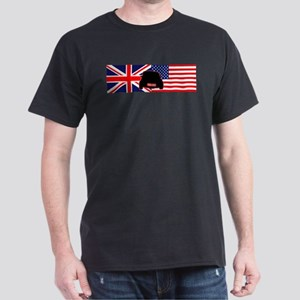 UK-US flag Mini Dark T-Shirt