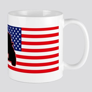 Canadian-US Mini flag Mug