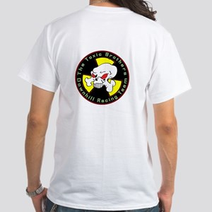 <B>The Toxic Brothers</B><BR> White T-Shirt
