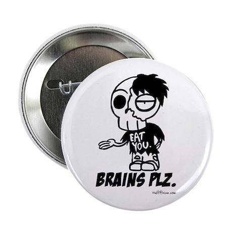 Zombie Brains Plz Button