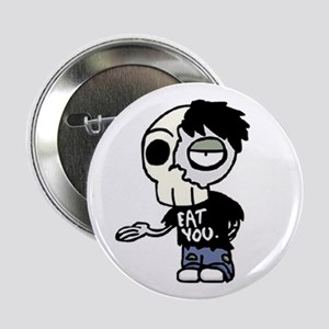 Zombie Eat You Pinback Button
