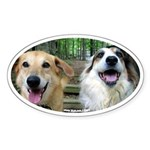 Blogdogs Oval Sticker