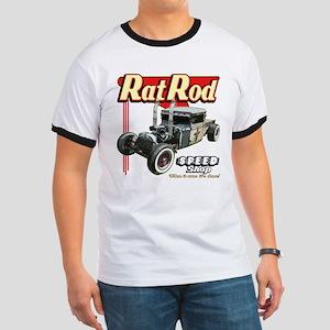 Rat Road Speed Shop - Pipes Ringer T