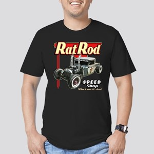 Rat Road Speed Shop - Pipes Men's Fitted T-Shirt (