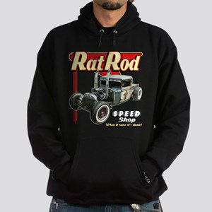 Rat Road Speed Shop - Pipes Hoodie (dark)