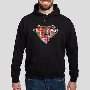 Super CPU! Hoodie (dark)