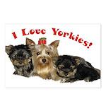 YorkiePostcards (Package of 8)
