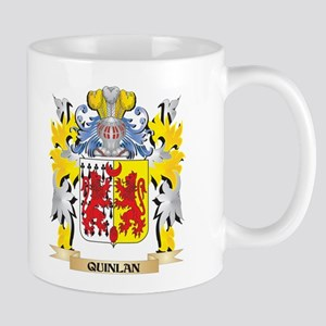 Quinlan Family Crest - Coat of Arms Mugs