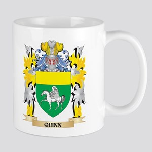 Quinn Family Crest - Coat of Arms Mugs