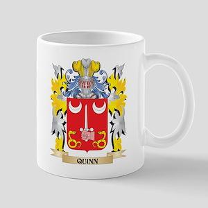 Quinn- Family Crest - Coat of Arms Mugs