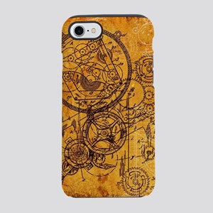 Clockwork Collage iPhone 7 Tough Case