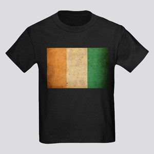 Vintage Ivory Coast Kids Dark T-Shirt
