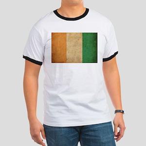 Vintage Ivory Coast Ringer T