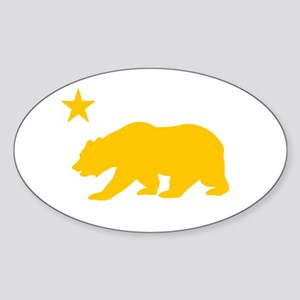 California Sticker (Oval)