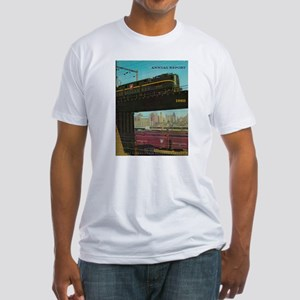 PENNA. RAILROAD 1960 Cover Fitted T-Shirt