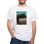 PENNA. RAILROAD 1960 Cover White T-Shirt
