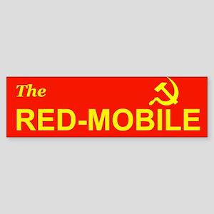 The Red-Mobile Bumper Sticker