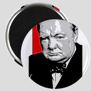 English Churchill Magnet