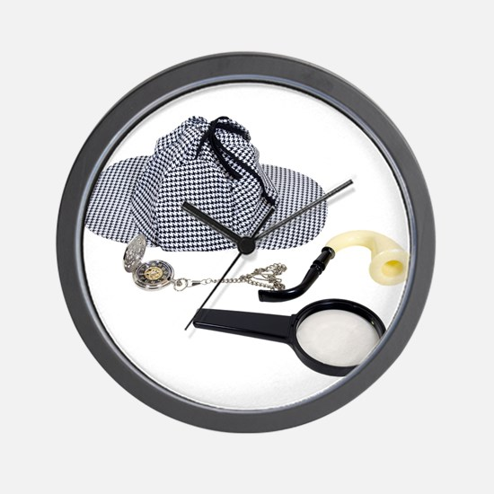 Time for Detective Wall Clock