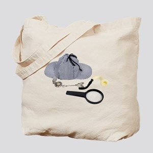 Time for Detective Tote Bag