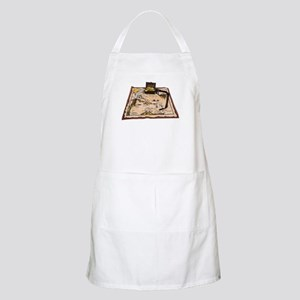 Pirate Map Treasure Apron