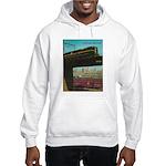 PENNA. RAILROAD 1960 Cover Hooded Sweatshirt