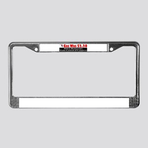 Gas Was $2.20 A Gallon License Plate Frame