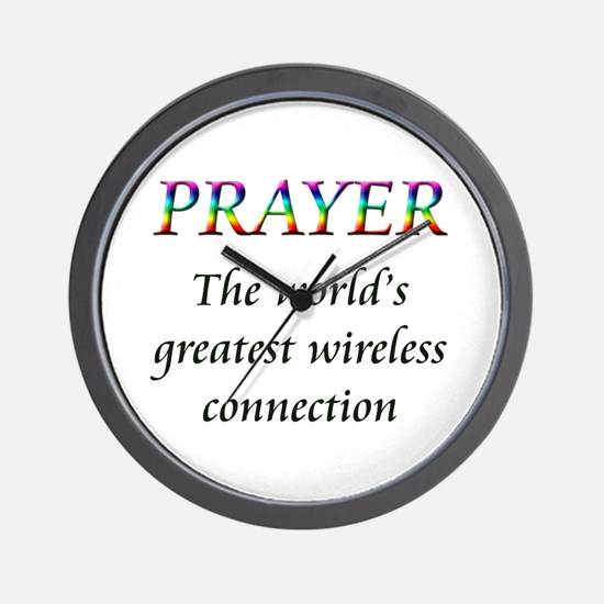 Cute Christianity Wall Clock