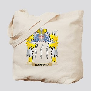 Radford Family Crest - Coat of Arms Tote Bag