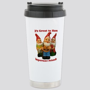Important Friends! Stainless Steel Travel Mug