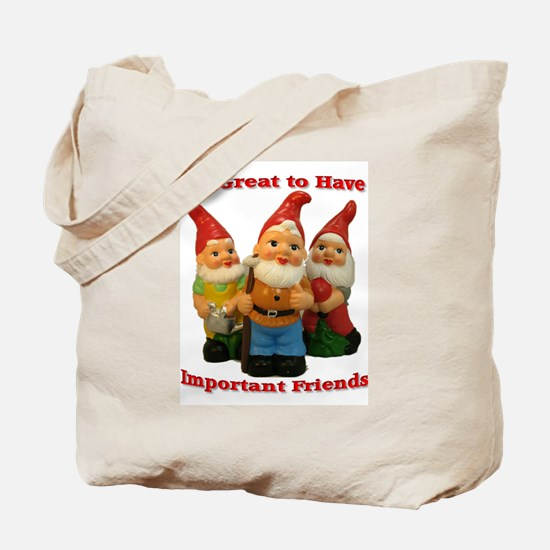 Important Friends! Tote Bag