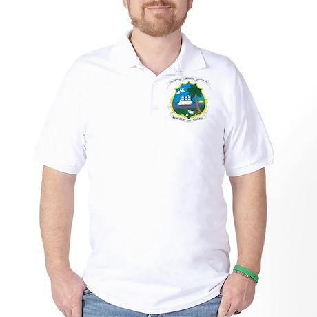 Liberia Coat Of Arms Golf Shirt
