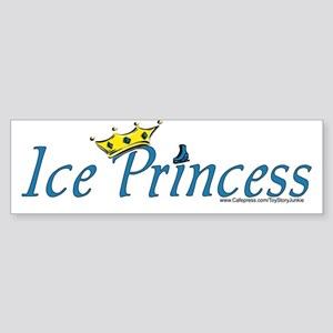 """Ice Princess"" Bumper Sticker"