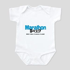 Marathon Daddy Peace Quiet Infant Bodysuit