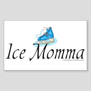 """Ice Momma"" Rectangle Sticker"