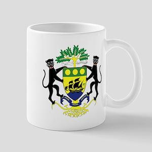 Gabon Coat of Arms Emblem Mug