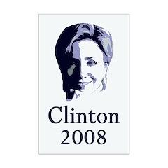 Clinton 2008 Portrait 11x17 Poster