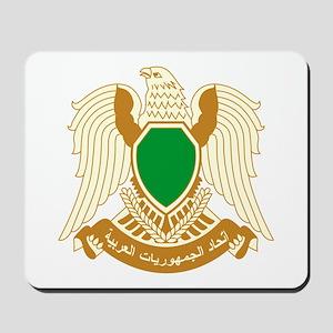 Libya Coat of Arms Emblem Mousepad