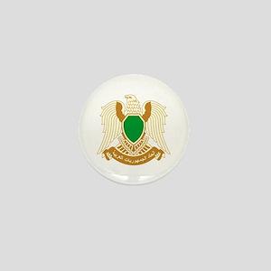 Libya Coat of Arms Emblem Mini Button