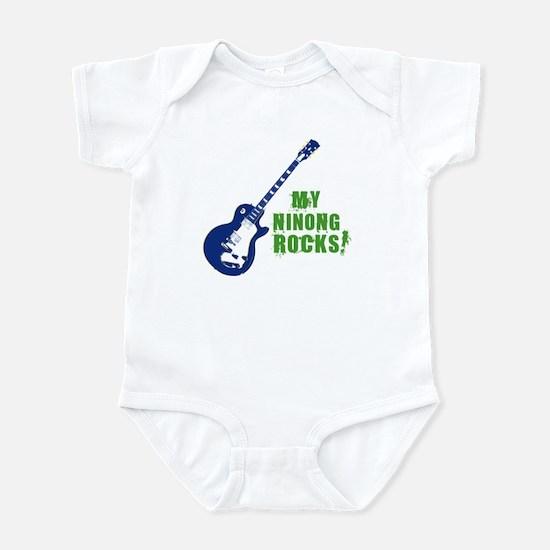 Rock On Ninong! Infant Bodysuit
