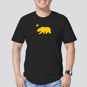 California Men's Fitted T-Shirt (dark)