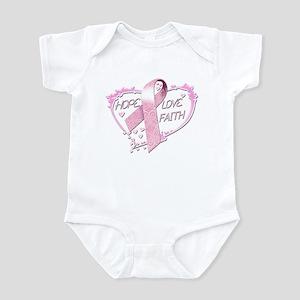 Hope Love Faith Infant Bodysuit