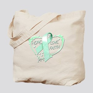 Hope Love Faith Tote Bag