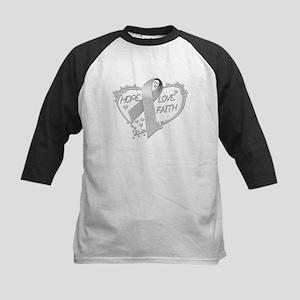 Hope Love Faith Kids Baseball Jersey