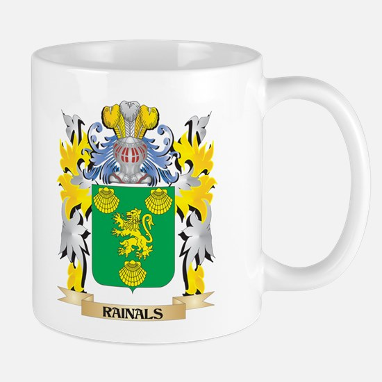 Rainals Family Crest - Coat of Arms Mugs