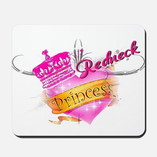 REDNECK PRINCESS (HEART) Mousepad