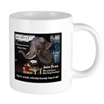 Infinite Funds Elephant Mugs