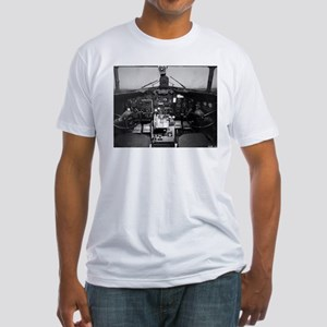 C-47 Cockpit Fitted T-Shirt