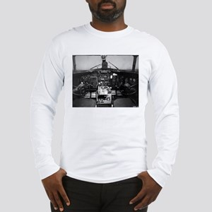 C-47 Cockpit Long Sleeve T-Shirt