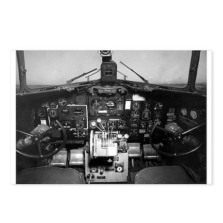 C-47 Cockpit Postcards (Package of 8)